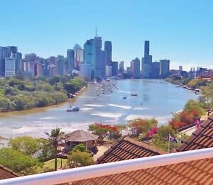 Fantastic life style with river & city views at Kangaroo Point