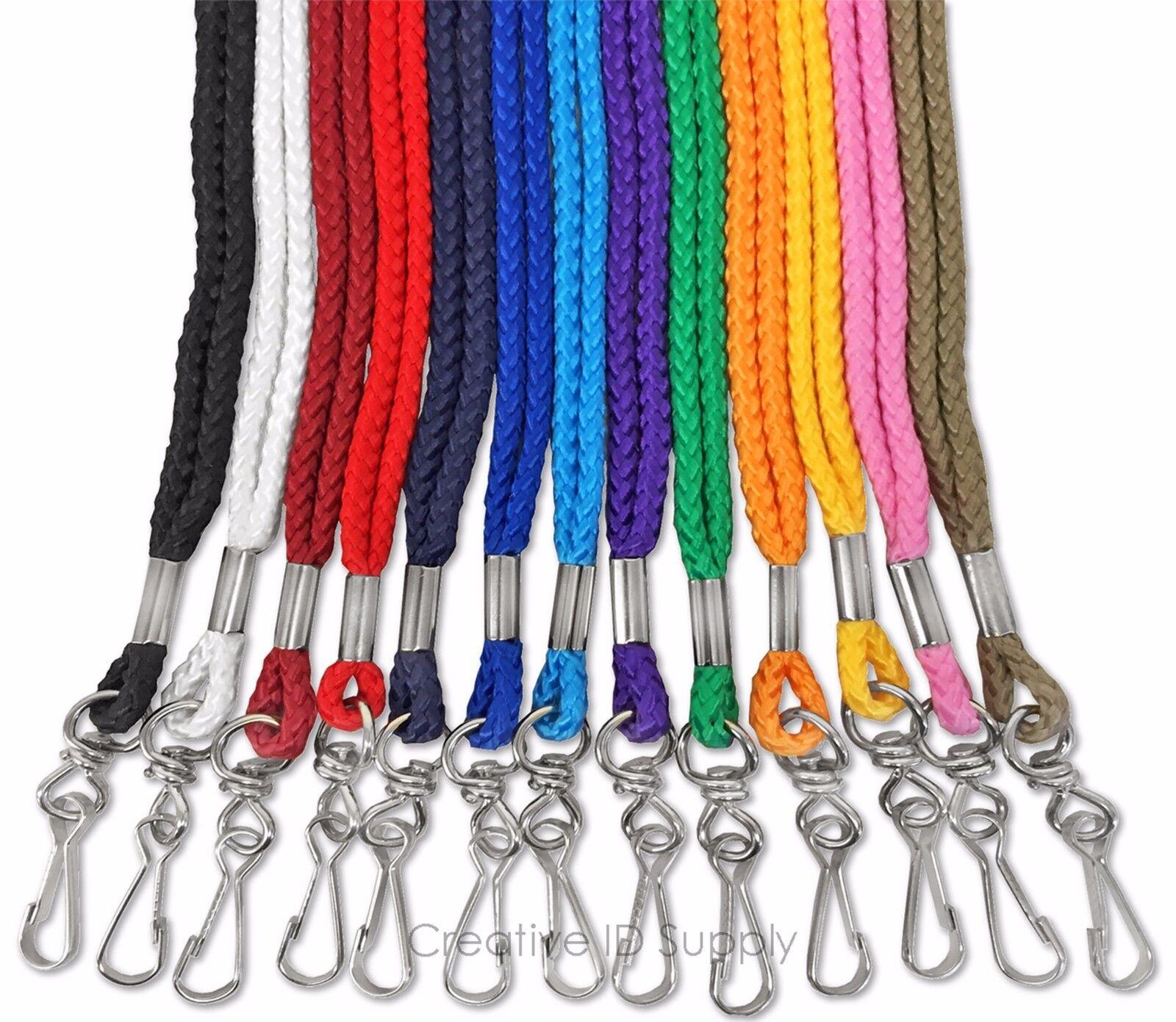 lanyard 5 pcs rope round neck lanyard