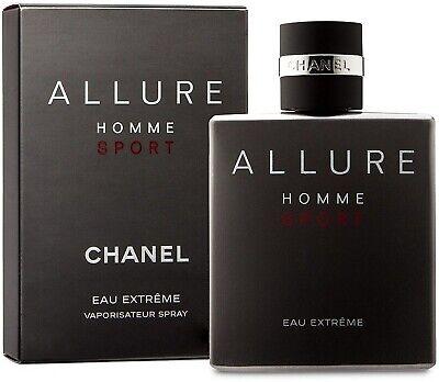 Chanel ALLURE HOMME SPORT EAU EXTREME 100ml Eau de Parfum NEU in...