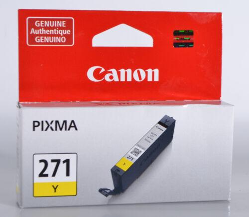 Canon CLI-271 Ink Cartridge Yellow 0393C001