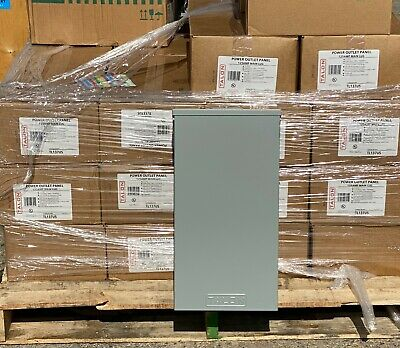 New Talon Tl137us  Nema 3r Single Phase Power Outlet Panel Ships Same Day Ups