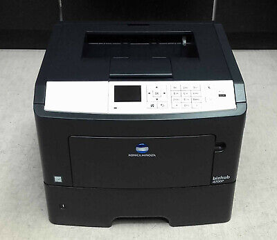 4700 Laser (Konica Minolta Bizhub 4700P Laserdrucker sw gebraucht - 14.700 gedr. Seiten)