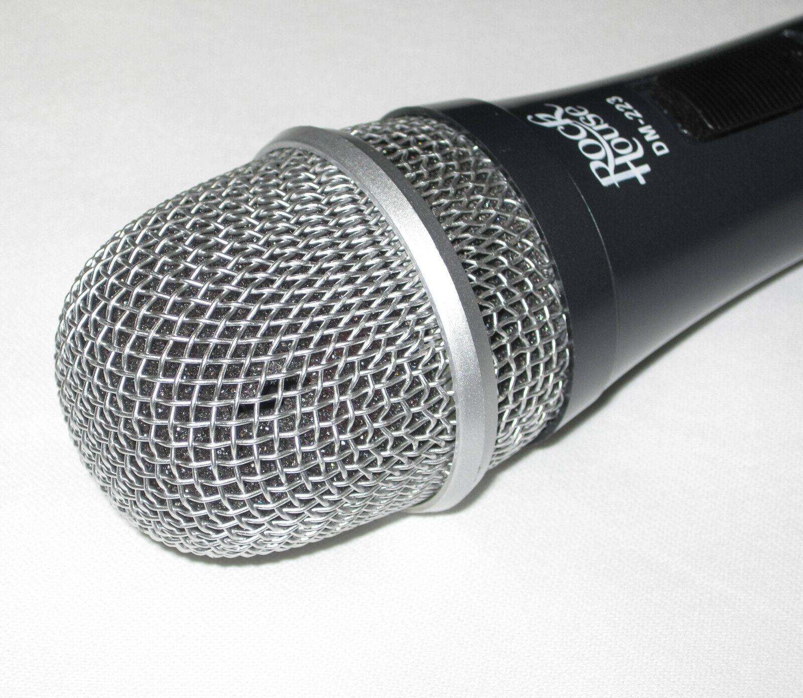 Rockhouse dynamisches Mikrofon DM-223 grau  #7241