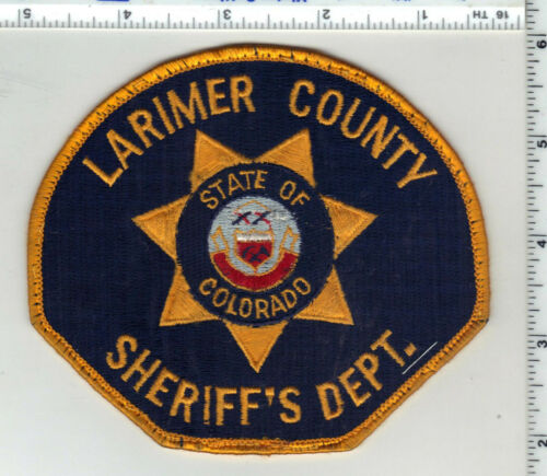 Larimer County Sheriff (Colorado) 3rd Issue Uniform Take-Off Shoulder Patch