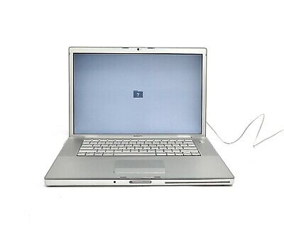 Apple MacBook A1150 Core Duo T2500 2.0GHz 2GB RAM NO OS/HDD W86212VNVWW - (2006)