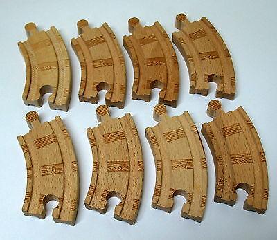 Thomas, Wooden, ((8) Sharp Curve Track, Learning Curve, EUC