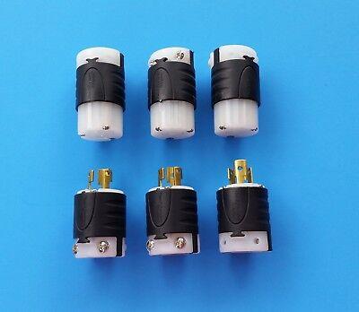 6 Pass Seymour 15 Amp 125 Volt Twist Lock Floor Sander Edger Electrical Plugs