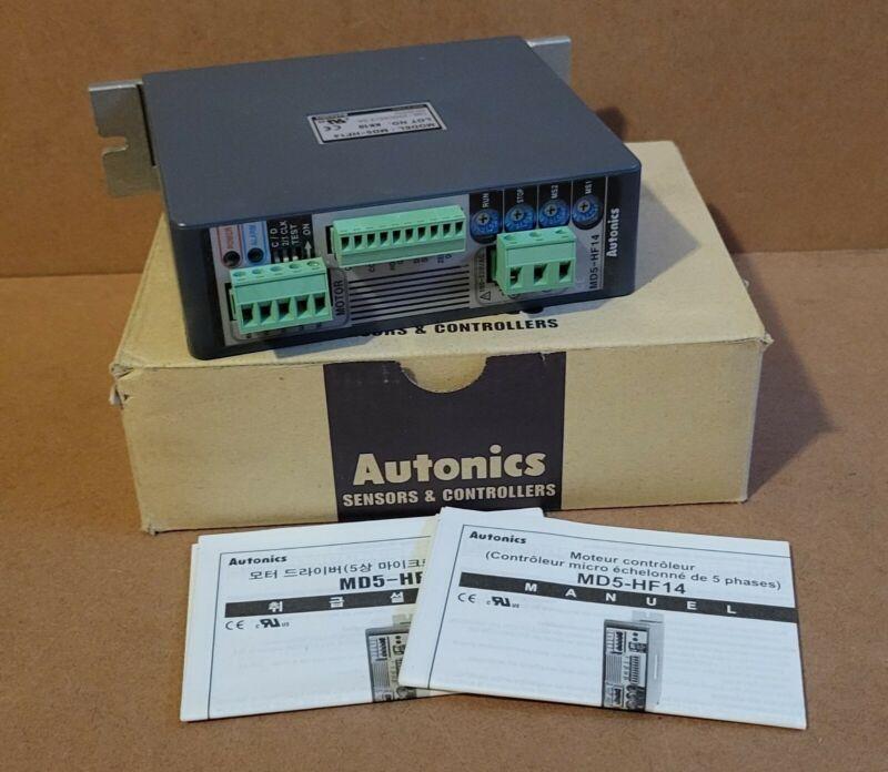 AUTONICS (MD-5HF14) 5 Phase 100-220V AC Voltage Stepping Motor Driver 5PFF5