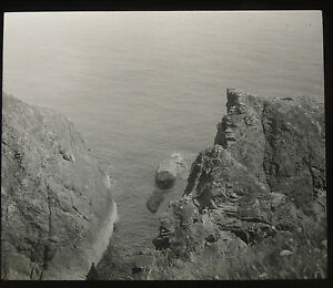 68-Lantern-Glass-Slide-Sea-Cliffs-Place-Unknown-Cornwall-Photo-pre1920s