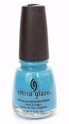 China Glaze CARIBBEAN BLUE 677 80874 Bahama Blues Collection Nail Polish NEW