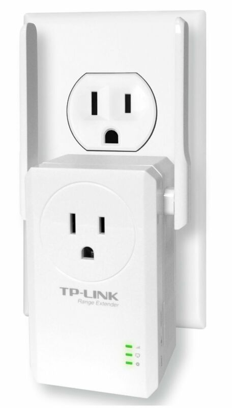 TP-Link 300Mbps WiFi Range Extender with AC Passthrough-TL-WA860RE Refurbished