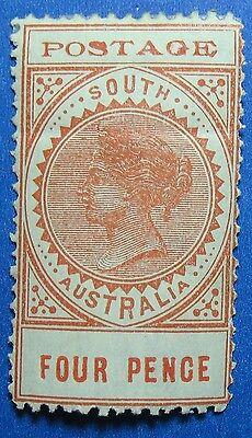 1902 SOUTH AUSTRALIA 4d SCOTT# 122 S.G.# 269 UNUSED                CS16609