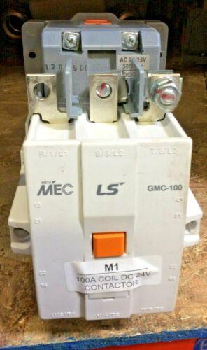 MEC Contactor GMC-100 100 a 100-240V AC Coil - Contactor