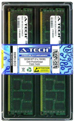 32GB 2x 16GB Dell PowerEdge T320 T420 T610 T620 Memory RAM DDR3 PC3-8500 ECC REG