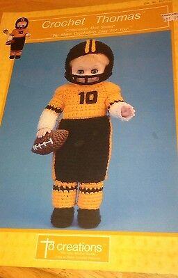 Винтажные 1989 TD Creations Crochet Thomas