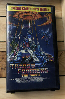 Transformers: The Movie (VHS, 2000, Kid Rhino) Optimus Prime, Leonard Nimoy, FS