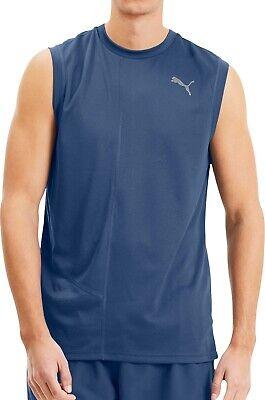 Puma Ignite Mens Running Vest - Blue