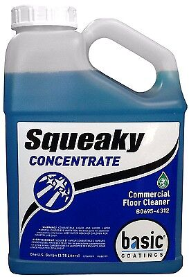 Squeaky Concentrate Commercial/Residential Hardwood Floor Cleaner 1 Gallon Commercial Hardwood Floor Cleaner