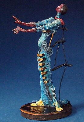 "SALVADOR DALI - ""Brennende Giraffe""- prachtvolle MUSEUMS Skulptur - Sammlerfigur"