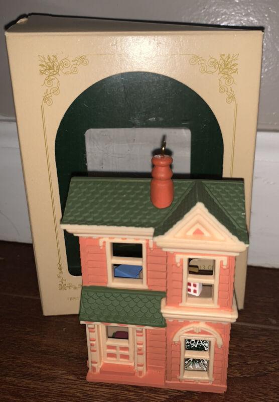 Hallmark Keepsake 1984 Christmas Ornament Victorian Dollhouse QX448-1 w/ Box