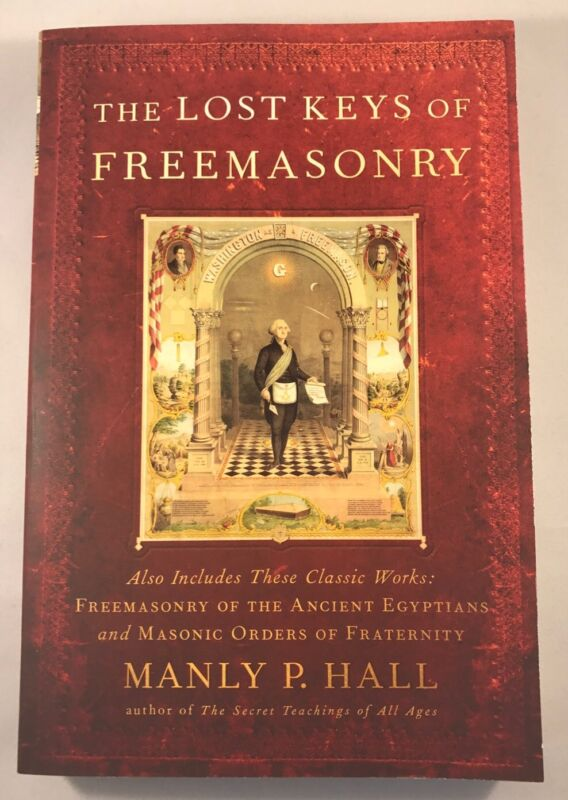 New Freemason Masonic The Lost Keys Of Freemasonry Book