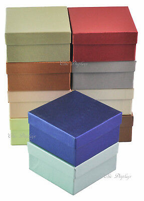 Lot Of 100 Embossed Fiber Cotton Filled Boxes Jewelry Box Bangle Box 3 34x2