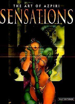 The Art of Azpiri Sensations Alfonso EDITION KULT Fantasy EROTIK ARTBOOK 90er