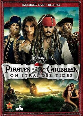 PIRATES OF THE CARIBBEAN: ON STRANGER TIDES (Blu-ray & DVD SET) Johnny Depp
