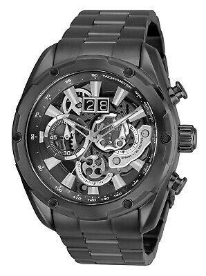 Invicta Men's Speedway 30039 50mm Grey Dial Stainless Steel Chronograph Watch