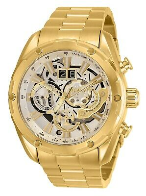 Invicta Men's Speedway 30038 50mm Silver Dial Chronograph Watch