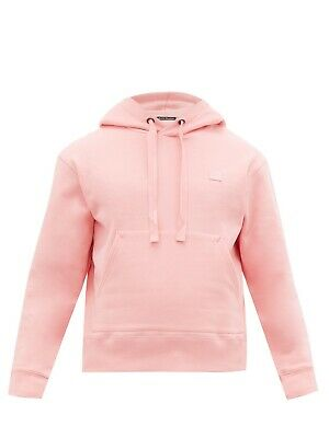 Acne Studio Ferris Face Hoody LARGE Blush Pink BNWT