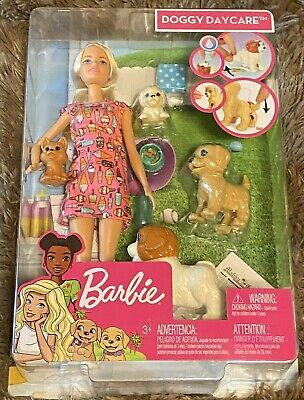 Barbie Doggy Daycare - New in Box - with extra Puppy accessory