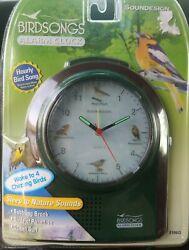 Birdsongs Alarm Clock chime birdsong1/4 hour ,alarm, sleep to nature sounddesign