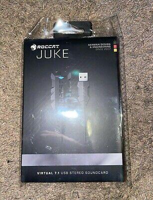 ROCCAT - Juke Virtual 7.1 USB Stereo External Sound Card