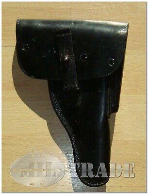 original Pistolentasche Gleitriementasche P1 / P38 Leder schwarz Holster *gut gebraucht kaufen  Greifenstein