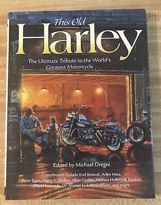 This Old Harley Hard Cover Book