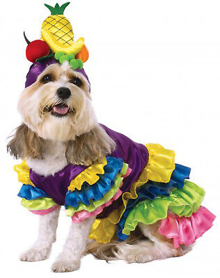Carmen Miranda Hat Costume (Brazilian Bombshell Latin Lady Carmen Miranda Fruit Hat Pet Dog Cat)