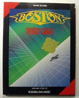 BOSTON THIRD STAGE BAND SCORE JAPAN GUITAR TAB on Rummage