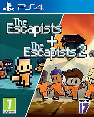 The Escapists 1 and 2 PS4 Brand New Factory Sealed PlayStation