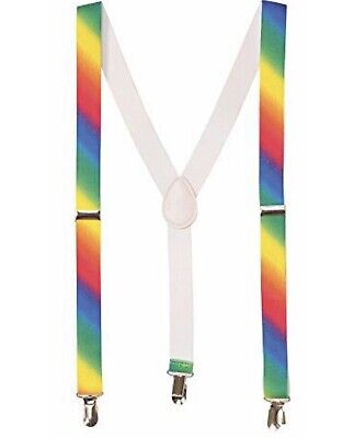 Rubie's Costume Co Unisex-AdultsSuspenders,Rainbow, OneSize. #92