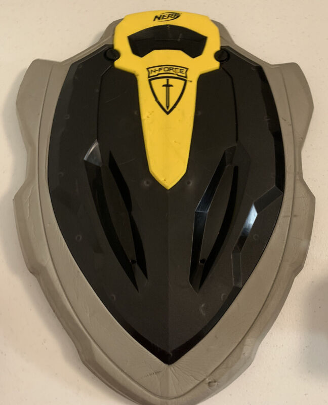NERF Shield STONEWALL N Force Black Yellow Live Action Role Play Cosplay LARP
