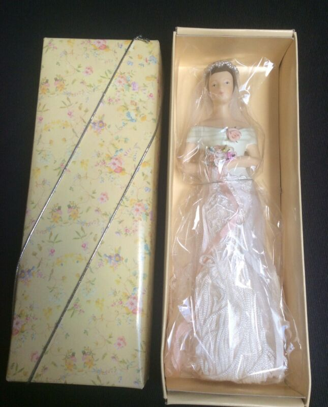 Putting on the Ritz Popular Imports Tassel Doll Bride New in Box