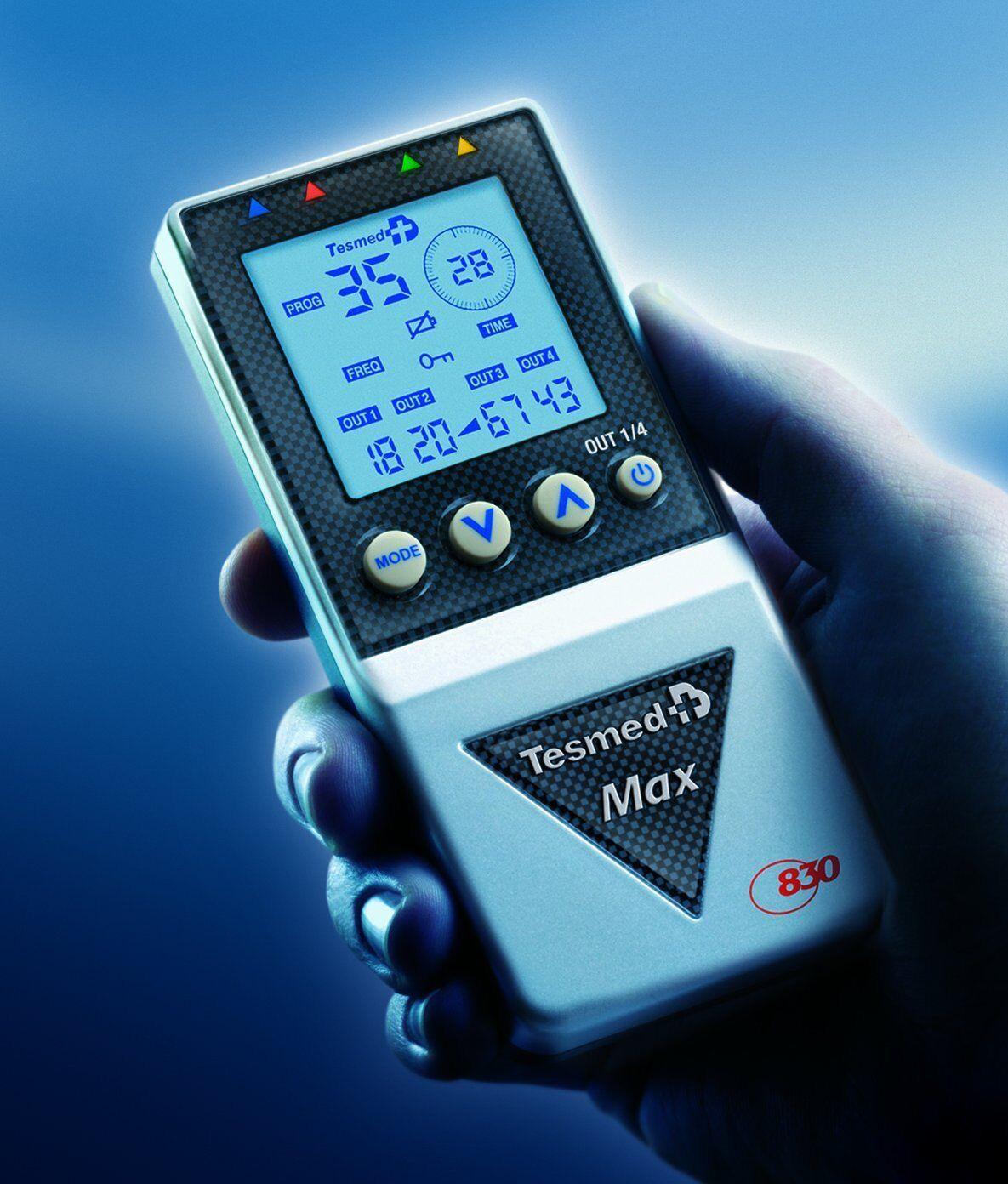 Elettrostimolatore muscolare professionale Tesmed MAX 830 - Offerta lancio!