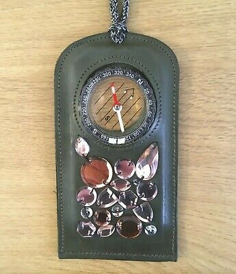 J W ANDERSON DESIGNER EMBELISHED COMPASS NECKLACE - RARE - COLLECTABLE