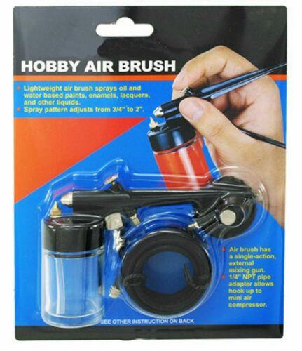 Mini Hobby Air Brush Airbrush Spray Gun Kit Hobby Paint Starter Tool