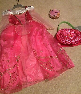 Disney Store Sleeping Beauty Princess Aurora Costume Dress Tiara Purse Size 7/8 - Aurora Tiara