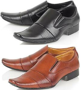 Boys Brown Wedding Shoes