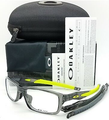 Used, NEW Oakley Crosslink Pitch RX Frame Grey Smoke OX8041-0256 56mm AUTHENTIC 8041  for sale  Winter Park