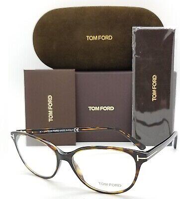 NEW Tom Ford RX Prescription Glasses Havana TF5421/V 052 55mm AUTHENTIC (Tom Ford Prescription Glasses Womens)