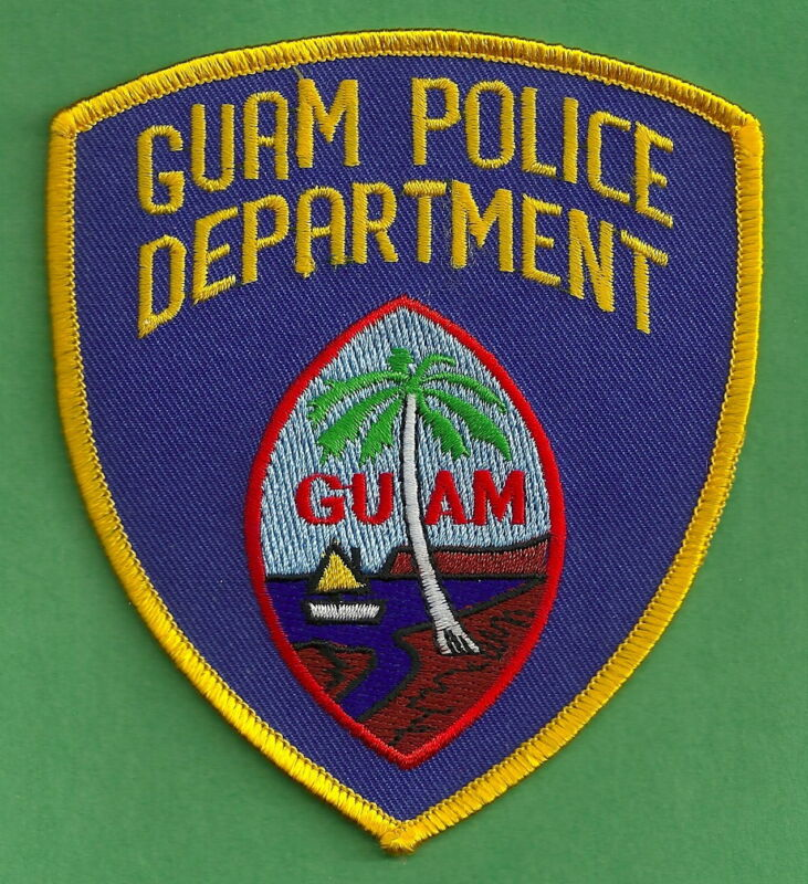 GUAM POLICE SHOULDER PATCH